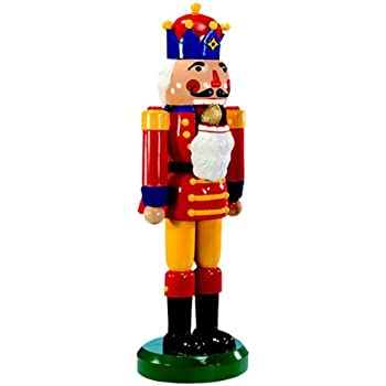 nutcracker life size fiberglass christmas decoration