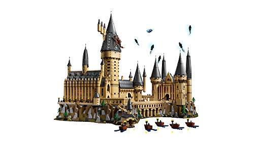 LEGO Harry Potter Hogwarts Castle 71043 Castle Model Building Kit with Harry Potter Figures Gryffindor, Hufflepuff, and…