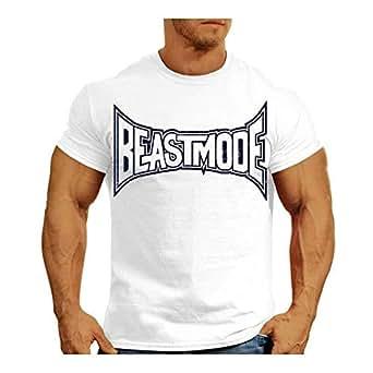 Xcage White Round Neck T-Shirt For Men