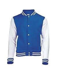 AWDis Hoods Big Boys' Varsity Letterman Jacket