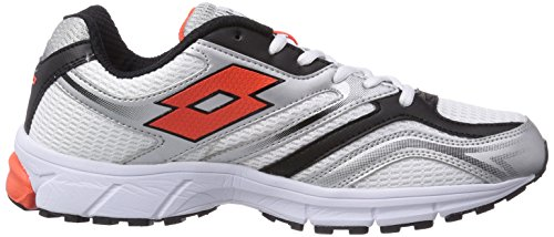 Lotto Sport ZENITH V - zapatillas de running de goma hombre multicolor - Mehrfarbig (WHITE/RED WAR)