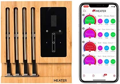 MEATER Thermometer Rotisserie Bluetooth Connectivity
