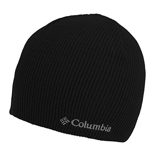 Columbia Men's Whirlibird Watch Cap Beanie, Black/White, One Size