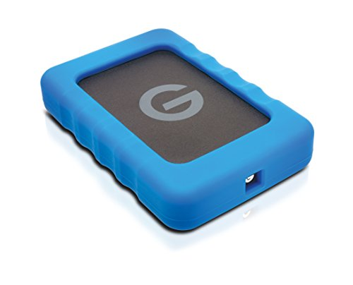 G-DRIVE ev RaW (with Rugged Bumper) 4TB
