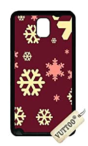 Samsung Note 3 Case,VUTTOO Stylish Christmas Pattern Soft Case For Samsung Galaxy Note 3 / N9000 / Note3 - TPU Black