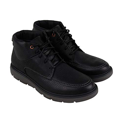 CLARKS Un Map Mid GTX Mens Ankle Boots Black Leather 13