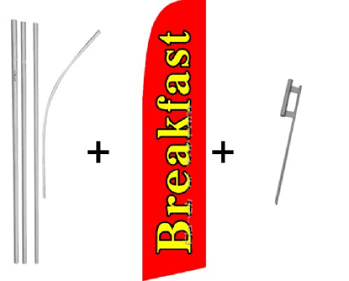 Breakfast Kit (Breakfast Super Flag & Pole Kit)