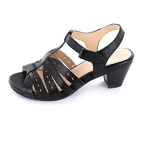 pour Caprice 022 Sandales Caprice femme Noir 28207 28207 n8fxTW1gq