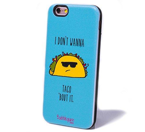 bubblegum cases i dont wanna taco bout it iphone 7 plus case iphone 8 plus case cute kawaii. Black Bedroom Furniture Sets. Home Design Ideas