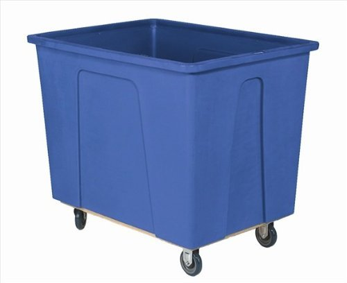 Wesco Industrial Products 272516 96 Gallon 12 Bushels Plastic Box Truck, 5