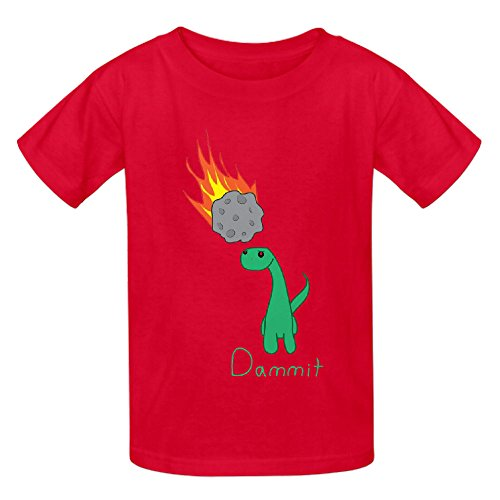 Sinestro Child Mask (Dammit Dinosaur Unisex Crew Neck Customized T Shirt Red)