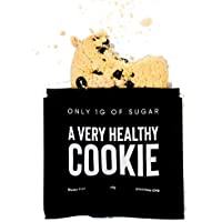 A Very Healthy Chocolate Chip Cookie! Keto, Only 1g of Sugar, Gluten-Free & Delicious! (10 Pack)