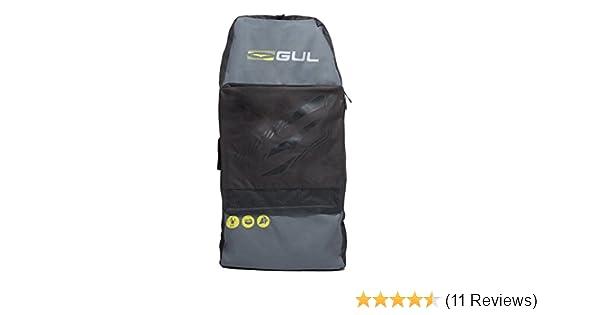 Amazon.com   GUL Arica Bodyboard Bag Back Pack for 2 x 42 Adult Bodyboards.  Black Yellow   Sports   Outdoors f1d4cd8729bda