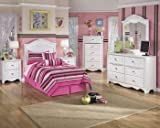 Ashley Furniture Signature Design - Exquisite Nightstand - 2 Drawers - Kids Room - White