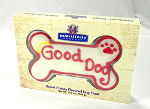 Pawsitively Gourmet Good Dog Bone, Chicken Liver (6 inch), 6-Count Bones