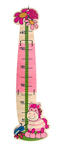 Hess Polypropylene Small Horse Growth Chart Baby Toy, 85 x 26 cm