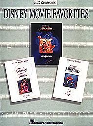 Hal Leonard Disney Movie Favorites Piano Accompaniment for Instrumental Solo Songbooks (Disney Solos For Clarinet)