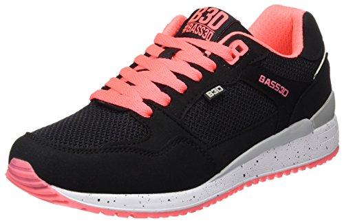 bass3d 041307, Zapatillas para Mujer Negro (Black)