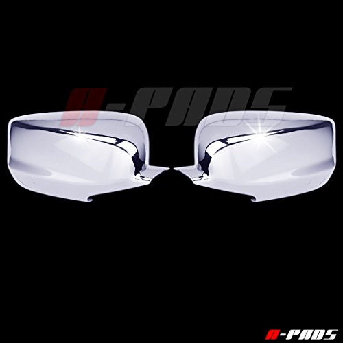 A-PADS 2 Chrome Mirror Covers for Honda ACCORD 2008-2012 - FULL Chromed (Honda Accord Chrome Mirror)