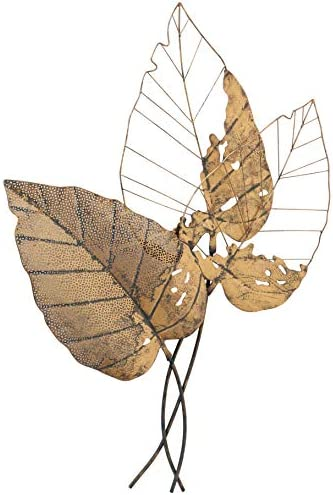 WHW Whole House Worlds Oversized Leaf Wall Art Sculpture