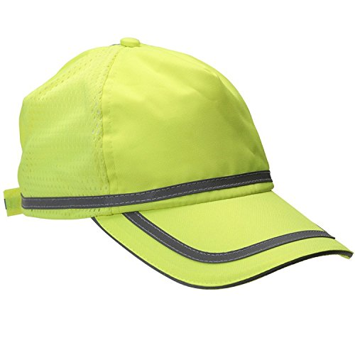 (ERB 61705 S108 Hi-Vizability Ball Cap, Fluorescent Lime)