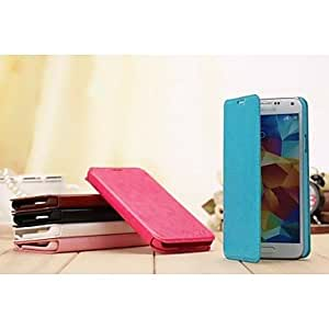YULIN Special Design Solid Color PU Leather Full Body Case for Samsung Galaxy S5 I9600(Assorted Colors) , Pink