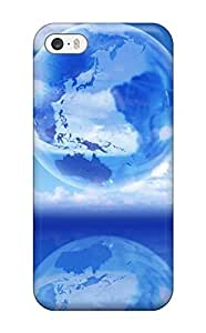Brand New 5/5s Defender Case For Iphone (see Through Earth)