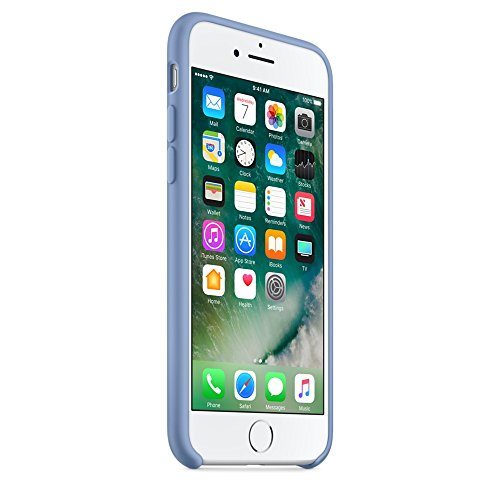 Apple Silicone Case for iPhone 7 - Azure by Apple (Image #1)