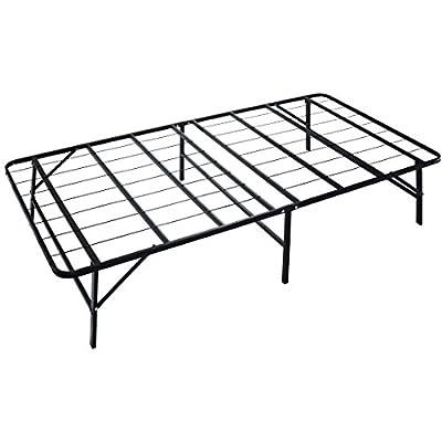 "Naomi Home idealBase 14"" Platform Metal Bed Frame - Mattress Foundation - Box Spring Replacement"
