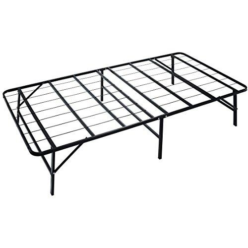 Naomi Home IdealBase 14 Inch Platform Bed (Black Twin Platform)