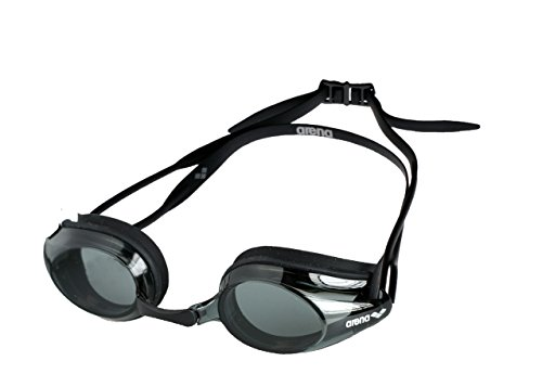 Arena Tracks Goggles, Adultos Unisex, Smoke-Black, TU
