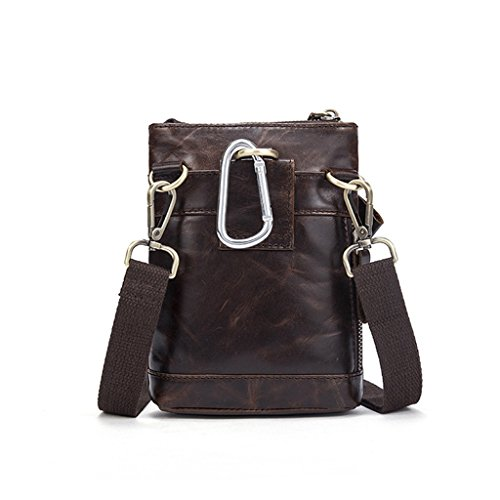 1 Vintage Messenger Design Shoulder Leather Bags Large Briefcases Sucastle 5 Capacity Men's 7qvZwSpp