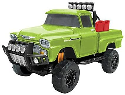 Chevrolet Apache Fleetside Pick Up Off Road 1958 Green 1:24 Model MOTORMAX
