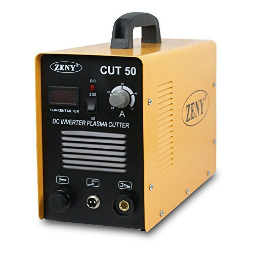 ZENY DC Inverter Plasma Cutter 50AMP CUT-50 Dual Voltage 110-220V Cutting Machine (CUT-50)