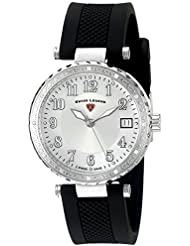 Swiss Legend Womens 16002SM-02 Sea Breeze Analog Display Swiss Quartz Black Watch