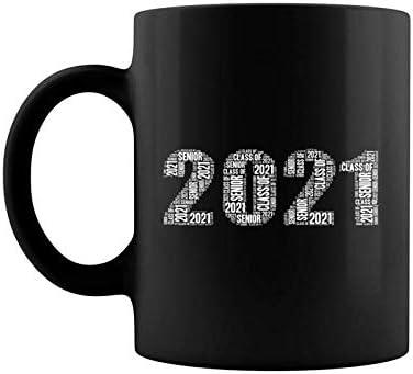 Amazon Com Senior Class Of 2021 Word Art High School College Junior Coffee Mug 11 15 Oz Kitchen Dining