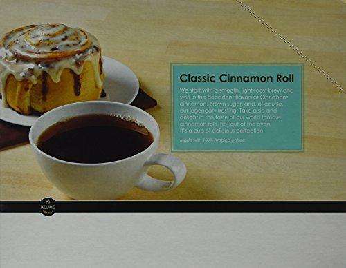 Cinnabon Classic Cinnamon Roll K-Cup Coffee,48 K-Cups