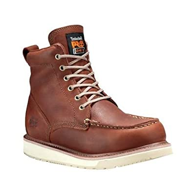 386f4d03176 Timberland PRO Men s 53009 Wedge Sole 6 quot  Soft-Toe Boot ...