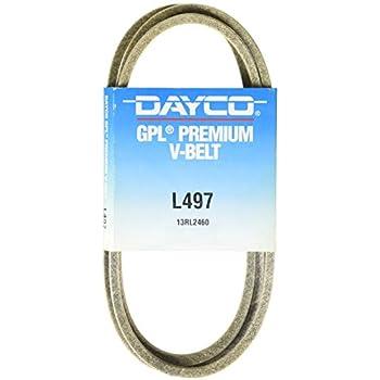 Dayco L497 V Belts
