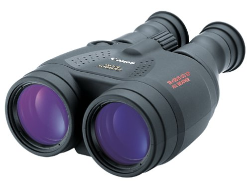 Canon 18x50 Image Stabilization All-Weather Binoculars w/Case, Neck Strap & Batteries by Canon