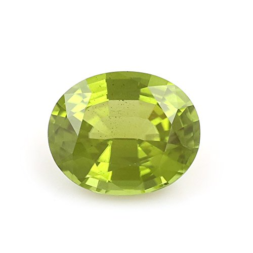 100%Natural Peridot Burma Oval 9.49 Carats TCW Fine Quality Gem By DVG by DVG Jewellery (Image #4)