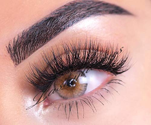 85c0c756492 Wispylicious By Lashylicious - 100% 3D Mink Eyelashes - Natural Fluffy With  Super Felxible Band