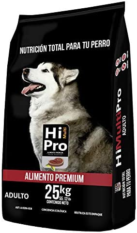 Hi Multipro Alimento Premium Adulto 25kg, 100% Balance Nutricional. con probióticos, Calcio y Proteínas de Alto Valor biológico 2