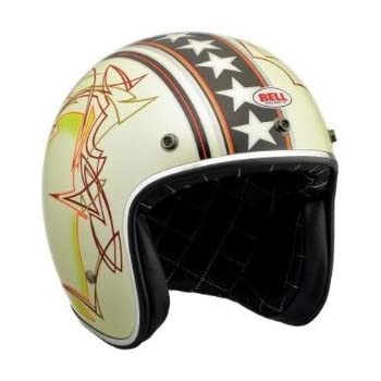 Bell Custom 500 Open Face Motorcycle Helmet (Non-Current Graphic)