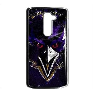 Baltimore Ravens Phone Case for LG G2 Black