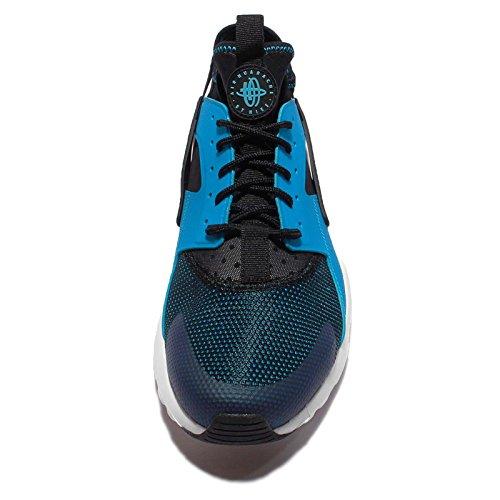 Nike Air Huarache Run Ultra, Zapatillas de Running para Hombre blue lagoon white black 401