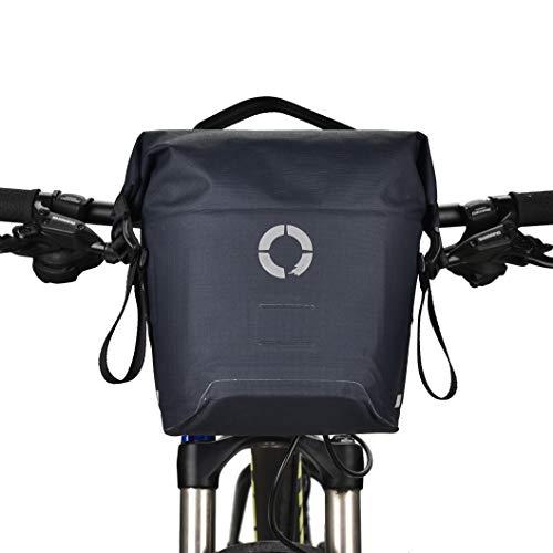 - Roswheel Bike Bag Waterproof Handlebar Bag with Quick Release Kit Bicycle Storage Bags, Tour Series TR1001BL (5L)