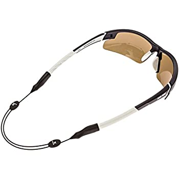 eaf6904e3603 Luxe Performance Cable Strap - Premium Adjustable No Tail Sunglass Strap &  Eyewear Retainer for your Sunglasses, Eyeglasses, or Prescription Glasses  (Black)