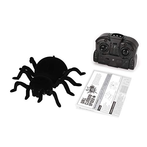 FY878 Infrared Remote Control Wall Climbing Realistic Spider RC Prank Insect Joke Scary Trick Toy Kid Gift Halloween -