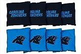 Victory Tailgate 8 Carolina Panthers NFL Football Regulation Corn Filled Cornhole Bags